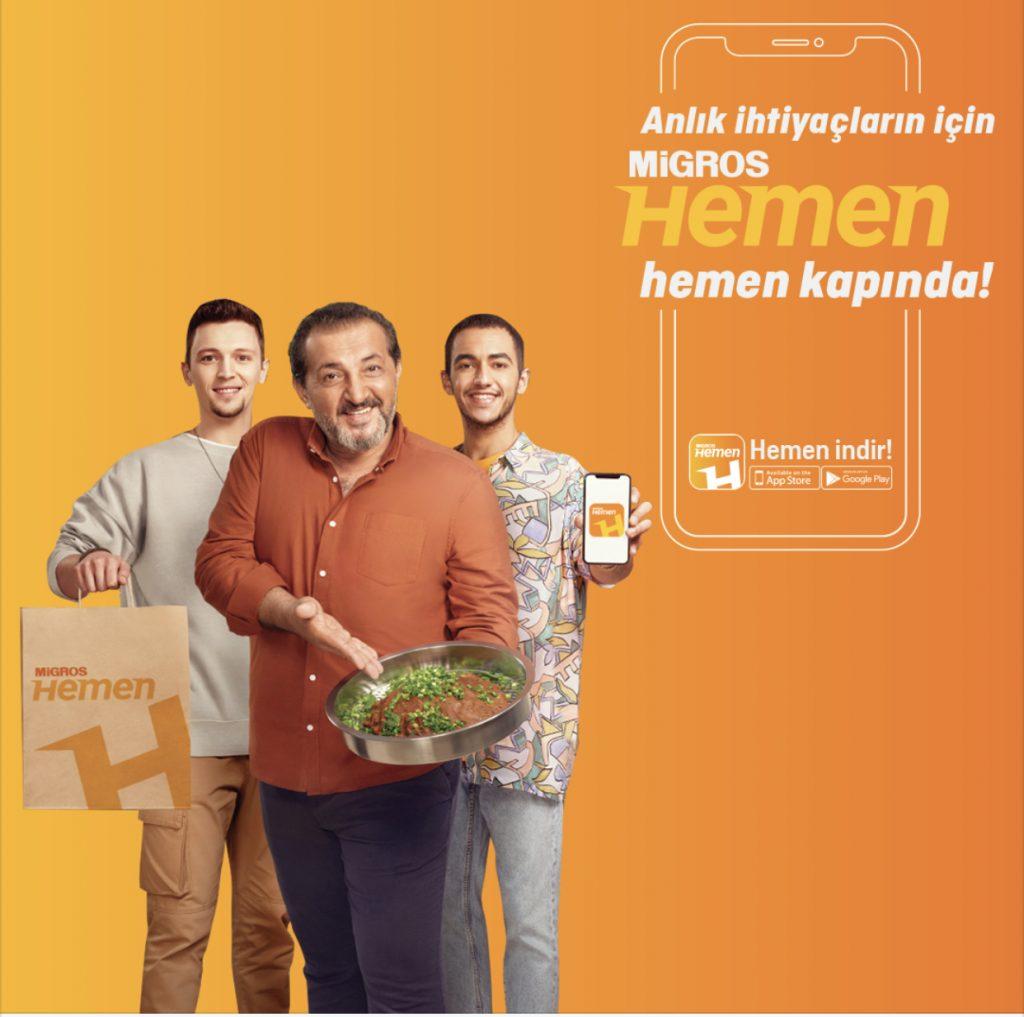 شركة ميغروس تركيا نموذج تسويق قريب من الجمهور
